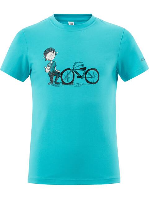 Cube André T-Shirt Juniors melange blue